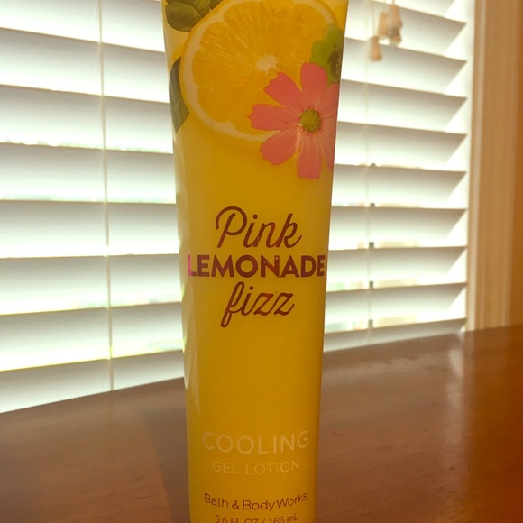 "Other - ""Pink Lemonade Fizz"" Cooling Gel body lotion"